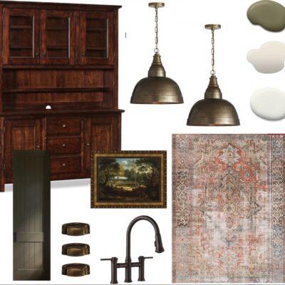 Vintage Kitchen One Room Challenge – Week 1